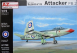 AZM7599 1/72 Supermarine Attacker FB.2